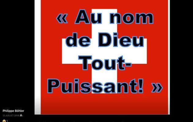 Lettre de protestation de Jean-Pascal Cattin à la RTS GENEVE.