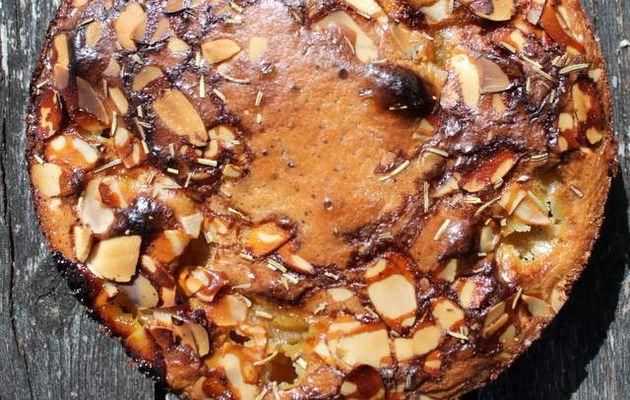 Clafoutis abricots miel romarin