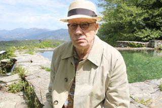 Une journée avec James Ellroy à Bastia
