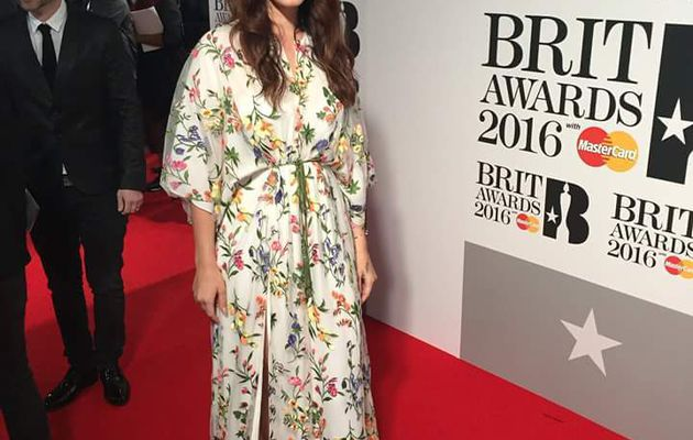 Lana Del Rey aux Brit Awards (24/02/2016)