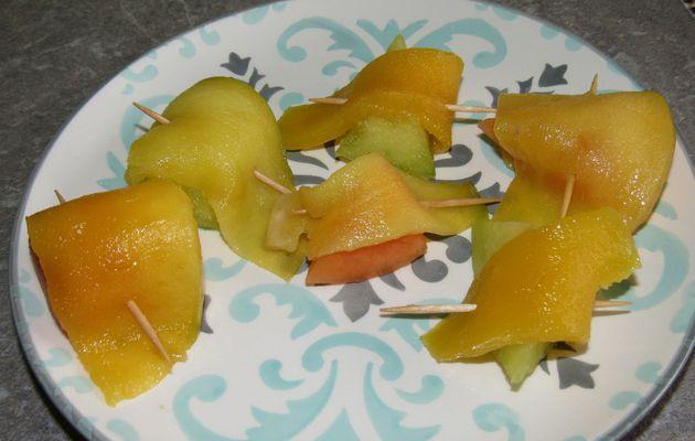 Bouchées de fruits d'été