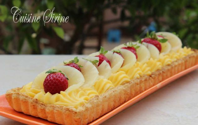 tarte au fruit :