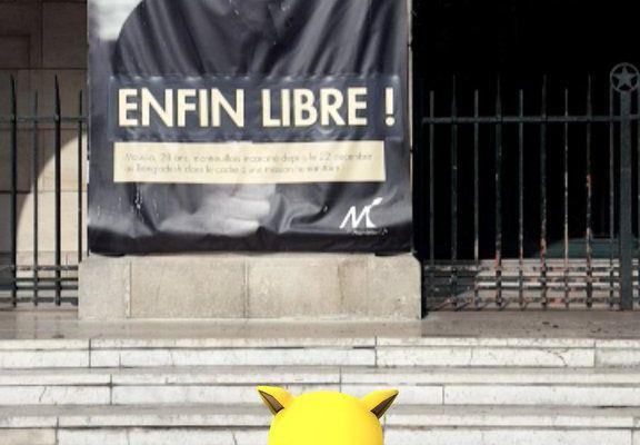 #Montreuil, #Roms #FreeMoussa & #PokemonGo.