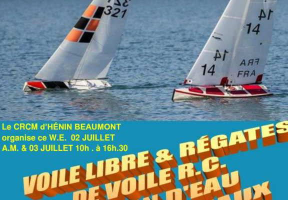 Voile amicale ce weekend