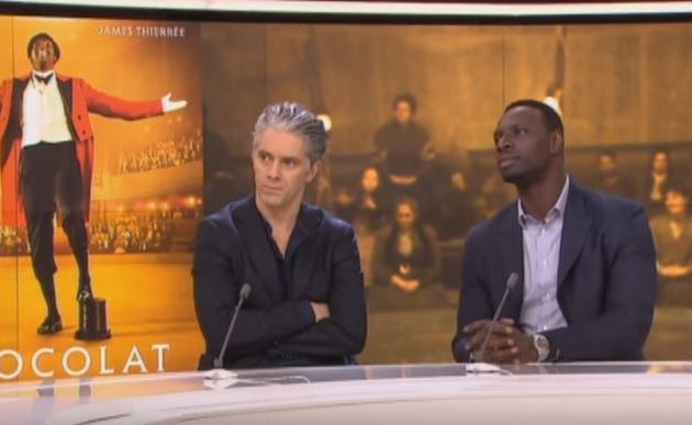 Interview de Omar Sy et James Thierrée/Chocolat en VF