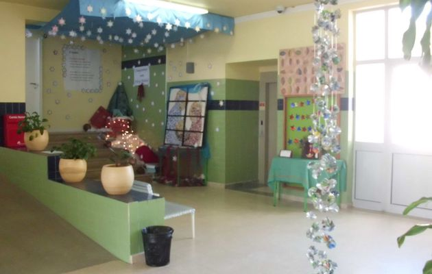 AA2 A school event Christmas decoration