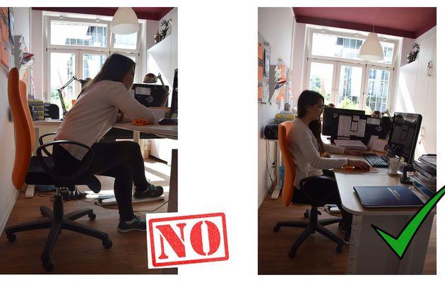 AO3 Computer and body posture