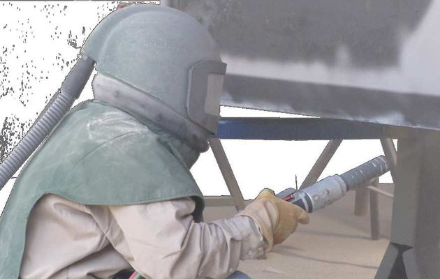 Sand Blasting - Erase Rough Surfaces