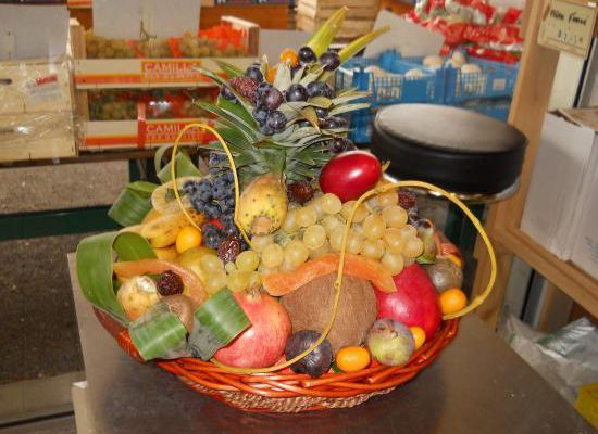 Plateau de fruits