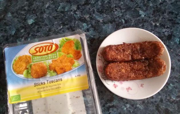 Croquettes de légumes et mozzarella