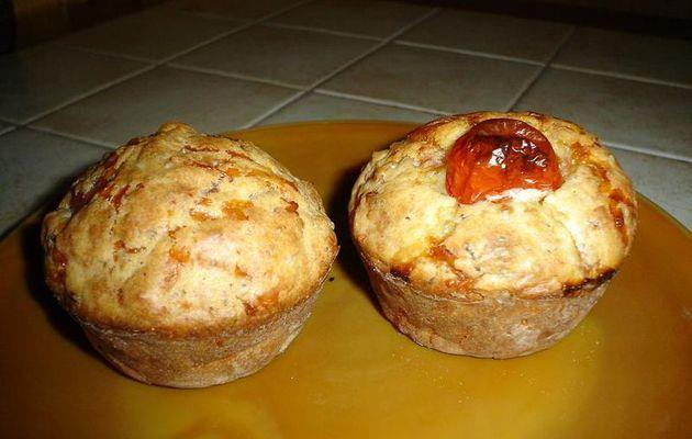 Muffins emmental jambon (végétal)