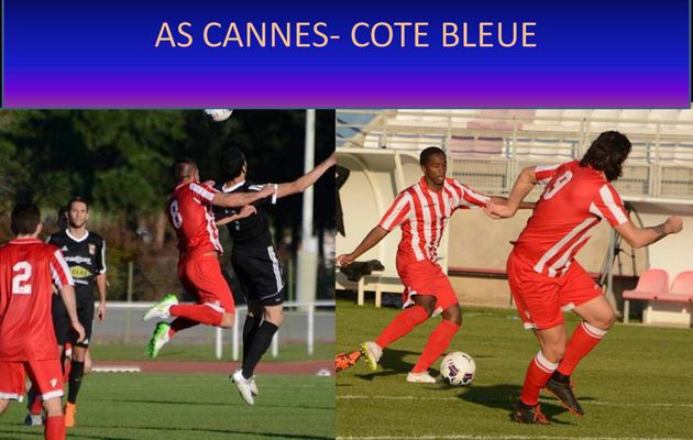 AS CANNES- COTE BLEUE