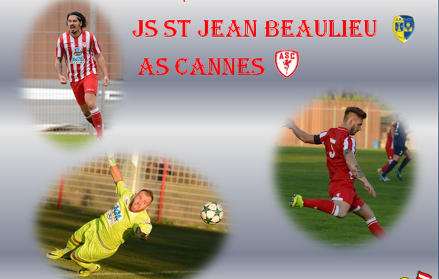 Championnat : Js St Jean Beaulieu - As Cannes .
