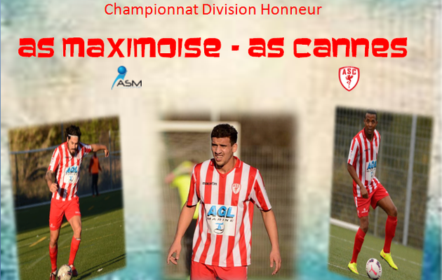 Championnat: As Maximoise - As Cannes