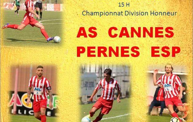 Championnat : As Cannes - Pernes Esp
