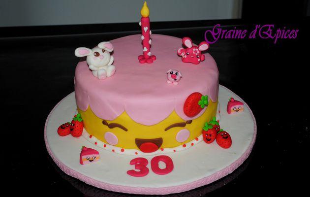 Cake design : kawaii de chez kawaii