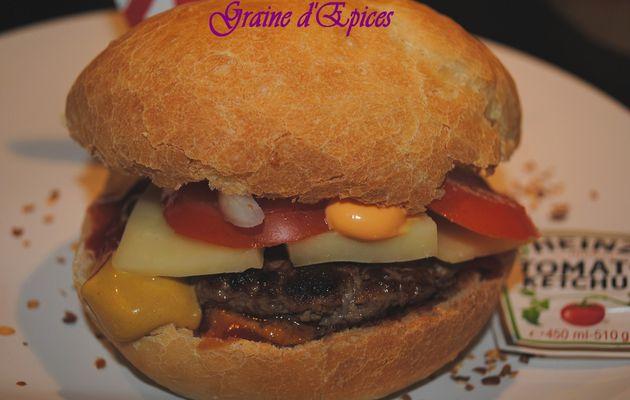Cheeseburgers 100% maison