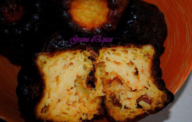 Cannelés au Chorizo & à l'Emmental