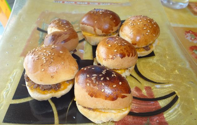 MINI HAMBURGERS APERITIFS THERMOMIX