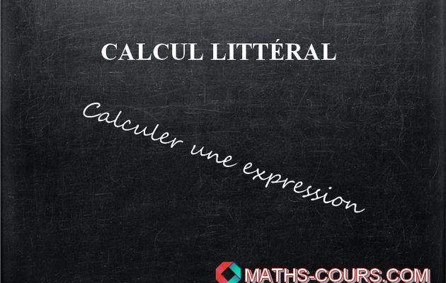 calcul expression