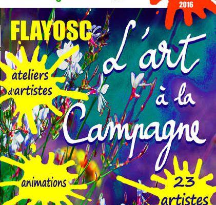 """""""Lezarts au jardin"""", 23 artistes, 4 lieux d'exposition, des animations + la participation des enfants des écoles. Tout cela à Flayosc, les Samedi 28 et dimanche 29 mai 2016 de 11h à 20 h."""
