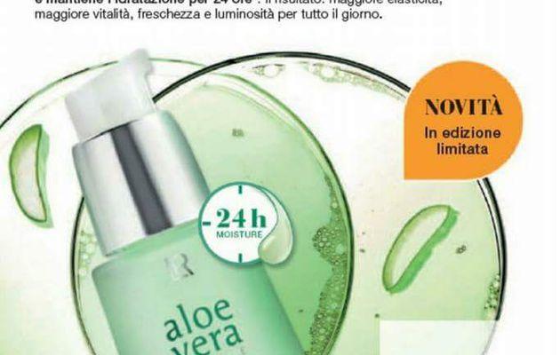 Aloe Vera 24h Moisture  Face Serum-LR team frankhair-