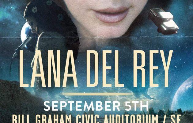 Concert : Lana Del Rey sera en live à San Francisco le 5 Septembre 2017