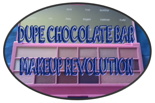 Dupes Chocolate Bar - I ♥ Makeup - Makeup Revolution