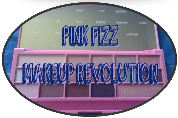 Makeup Revolution - I ♥ Makeup - Pink Fizz Swatch
