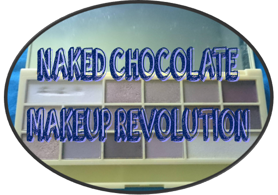 MAKEUP REVOLUTION - I ♥ Makeup Chocolate Bar - Naked Chocolate