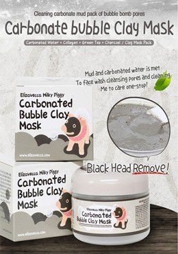 Test Elizavecca Milky Piggy Carbonated Bubble Clay Mask