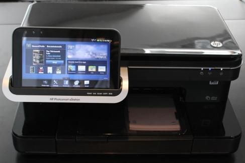 Print From A Tablet Connected To A Wireless Printer