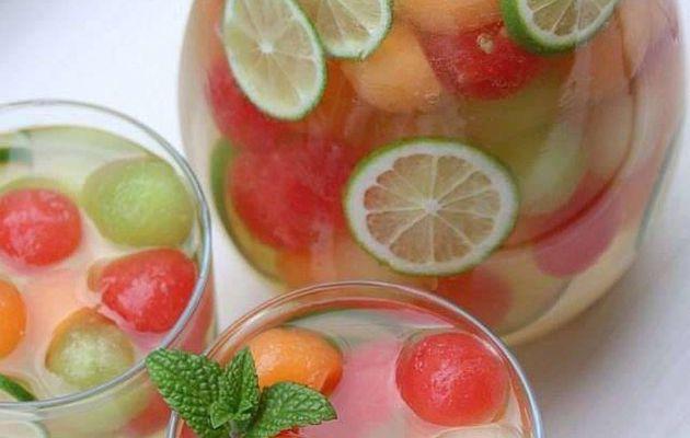 Sangria aux melon