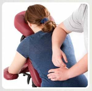 Massage assis Amma ou shiatsu en entreprise