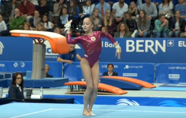 my fave gymnastics routine of last month