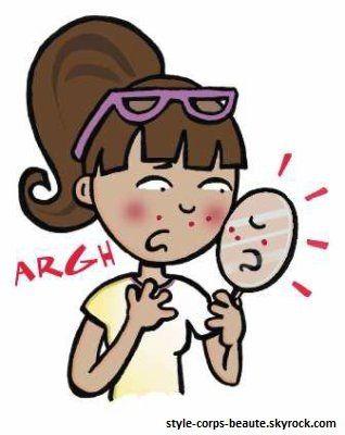 Boutons d'acné: les bons gestes à adopter