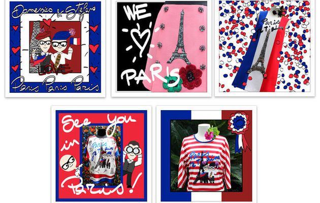 """#PARIS JE T'AIME"", LA #COLLECTION CARTE POSTALE DE #D&G"