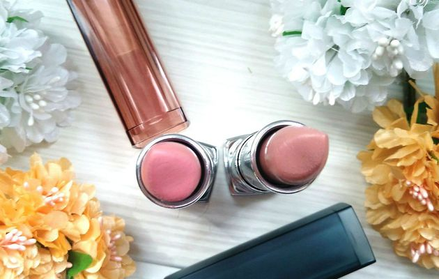 Du Brillant Au Mat  |  Rouges à Lèvres Nude ColorSensational et Mat ColorSensational - Gemey  Maybelline