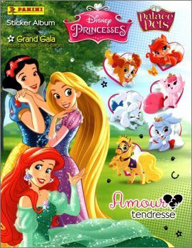 Disney Princesses - Palace Pets - Stickers panini 2014