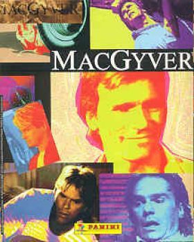Mac Gyver - Stickers panini - 1996 - COMPLET