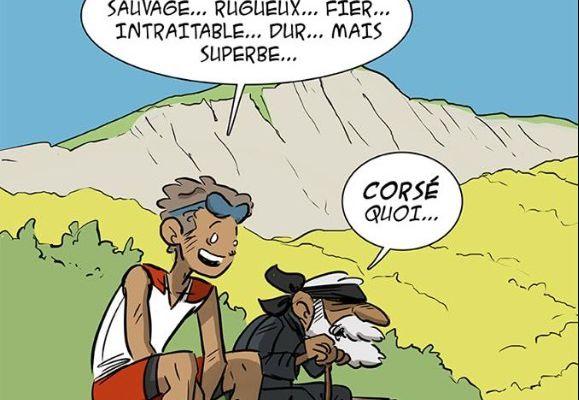FRANÇOIS D'HAENE BAT LE RECORD DU GR20.