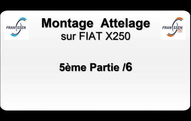 Video 5/6 tutorial pour Montage Attelage Camping car sur un Fiat X250 par FRANSSEN REMORQUES
