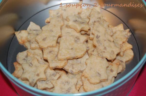 Petits-Beurre aux Graines du Tournesol et au Parmesan