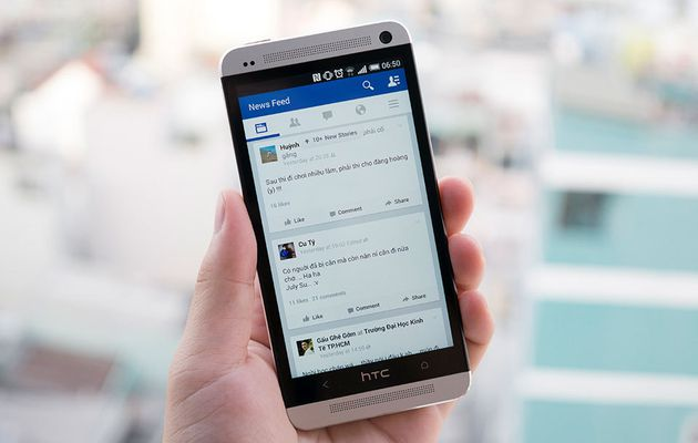 Aplicativo Facebook para Android