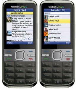 Instruções de download do Baixar facebook para celulares Java
