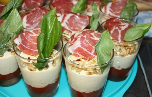 Le Tiramisu Coppa Parmesan Tomate