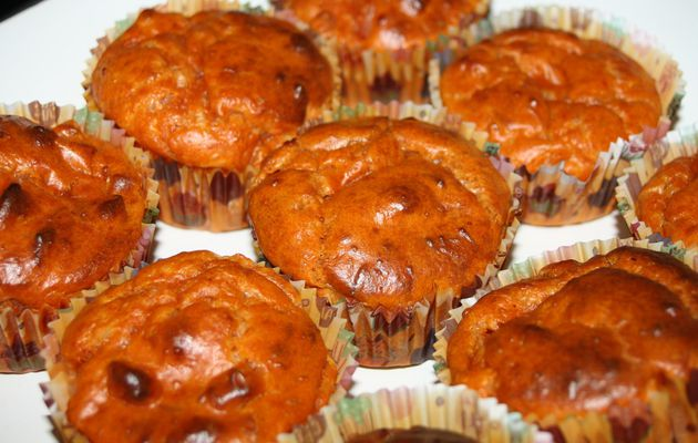 Les Muffins Jambon Tomate Gruyère