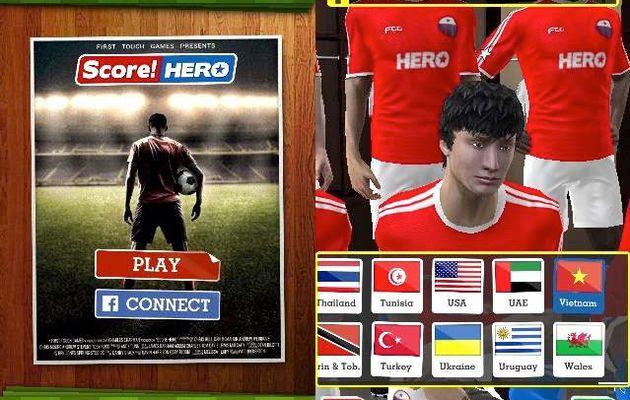 Score! Hero – Jogo de futebol autêntica no telefone