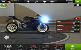 """jogo Traffic Rider """"da direcção de seda"""" para o Android"""