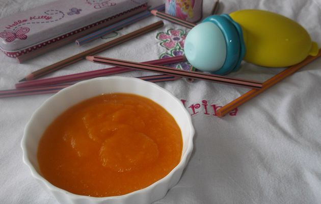 compote pommes carottes